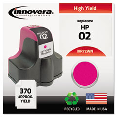 Remanufactured C8772WN (02) Ink, 370 Page-Yield, Magenta