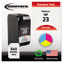 Remanufactured C1823D (23) Ink, 640 Page-Yield, Tri-Color