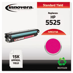 Remanufactured CE273A (5525) Toner, 15000 Page-Yield, Magenta