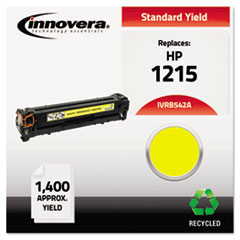 Remanufactured CB542A (125A) Toner, Yellow