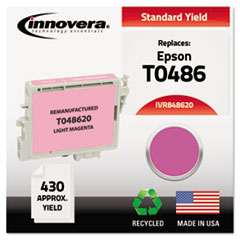 Remanufactured T048620 (48) Ink, Light Magenta