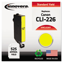 Remanufactured 4549B001AA (CLI-226) Ink, Yellow
