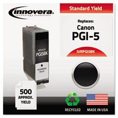 Remanufactured 0628B002 (PGI5BK) Ink, 500 Yield, Black