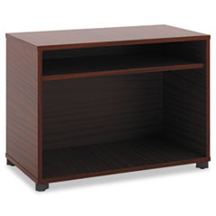 Manage Series Open File Center, Laminate, 30w x 16d x 22h, Chestnut