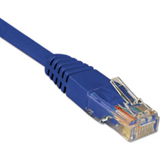 CAT6 Patch Cable, 5 ft., Blue