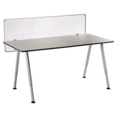 OfficeWorks Freestyle Table Privacy Panel, 57w x 1d x 20h, Clear ICE68901