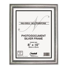 Antique Silver Finish Wood Frame, 8 x 10 NUD14281