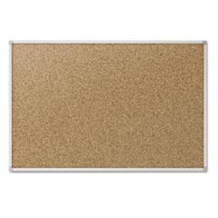 MotivationUSA * Cork Bulletin Board, 48 x 36, Aluminum Frame
