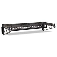 COU ** Steel Wire Wall Shelf Rack, 36w x 18-1/2d x 7-1/2h, Black at Sears.com