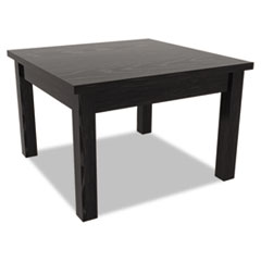 Valencia Series Occasional Table, Rectangle, 23-5/8w x 20d x 20-3/8h, Black