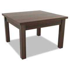 Valencia Series Occasional Table, Square, 23-5/8 x 23-5/8 x 20-3/8, Mahogany