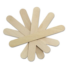 "Sterile Tongue Depressors, Wood, 6"" Long, 100/Box"