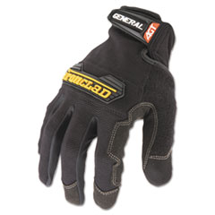 General Utility Spandex Gloves, Black, Medium, Pair
