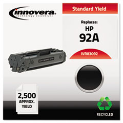 Remanufactured C4092A (92A) Laser Toner, 2500 Yield, Black