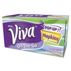 COU VIVA On-the-Go Napkins, 1-Ply, 8 1/10 x 10, White, 65 Sheets/Box at Sears.com