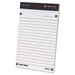 Shot Note Writing Pad, 5 x 8, Legal/Wide, 40 Sheets TOP20110