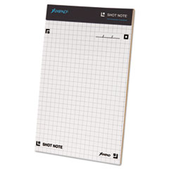 Shot Note Writing Pad, 5 x 8, Dot Graph, 40 Sheets TOP20111
