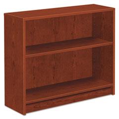 1870 Series Bookcase, Two Shelf, 36w x 11 1/2d x 29 7/8h, Henna Cherry HON1871J