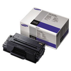 MLTD203E Extra High-Yield Toner, 10,000 Page-Yield, Black