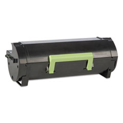 60F1000 (LEX-601) Toner, 2500 Page-Yield, Black