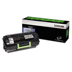 52D1H00 (LEX-521H) High-Yield Toner, Black