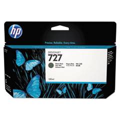 B3P22A (HP-727) Ink, 130 mL, Matte Black