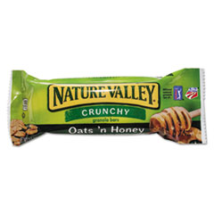 Nature Valley Granola Bars, Oatsn Honey Cereal, 1.5oz Bar, 18/Box