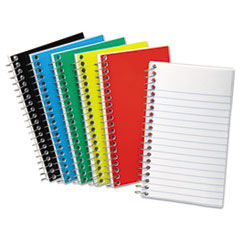 Wirebound Pocket Memo Book, Narrow, 3 x 5, White, 50 Sheets TOP25095