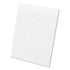 Glue Top Pads, 8 1/2 x 11, White, 50 Sheets, Dozen