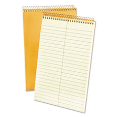 Spiral Steno Book, Gregg, 6 x 9, 15 lb, Green Tint, 60 Sheets TOP25270