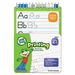 LeapFrog Mini Dry Erase Book, Printing, Grades K-1, 8 Pages at Sears.com