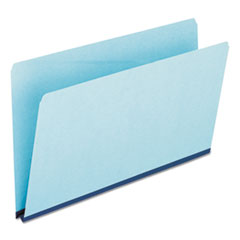 Pressboard Expanding File Folders, Straight Cut, Top Tab, Legal, Blue, 25/Box ESS9300