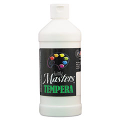 Tempera Paint, White, 16 oz LIM201705