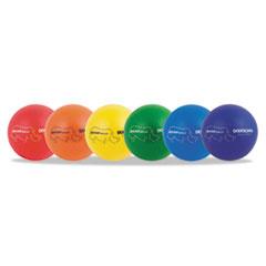 "COU - Rhino Skin Dodge Ball Set, 7"" Diameter, Assorted, 6 Balls/Set at Sears.com"