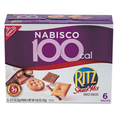 Ritz 100 Calorie Snack Mix, 6/Box RTZ00609