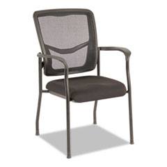 Alera EX Series Mesh Guest Chair, Black