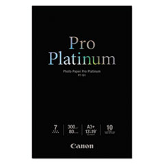 Photo Paper Pro Platinum, High Gloss, 13 x 19, 80 lb.,White, 10 Sheets
