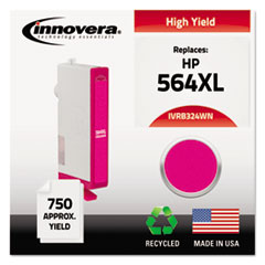 Remanufactured CB324WN (564XL) High-Yield Ink, Magenta