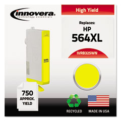 Remanufactured CB325WN (564XL) High-Yield Ink, Yellow