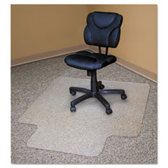 Advantus Recycled Chair Mats For Carpets, 48 x 36, Slightly Tinted at Sears.com