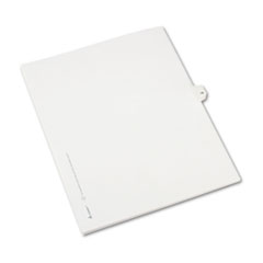 Allstate-Style Legal Exhibit Side Tab Divider, Title: 14, Letter, White, 25/Pack