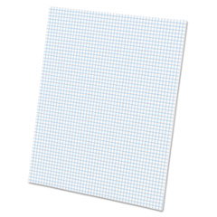 Quadrille Pads, 5 Squares/Inch, 8 1/2 x 11, White, 50 Sheets TOP22002