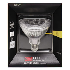 LED Advanced Light Bulbs PAR-38, 100 Watts, Warm