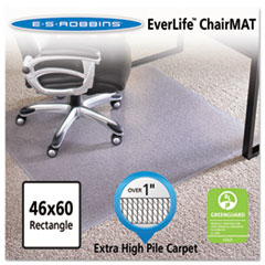 46x60 Rectangle Chair Mat, Performance Series AnchorBar for Carpet over 1""