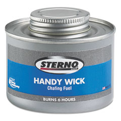 STERNO HANDY WICK METHANOL GEL CHAFING FUEL 6 HOUR BURN
