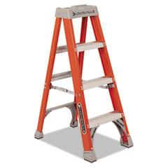 "Fiberglass Heavy Duty Step Ladder, 50"", Orange, 3 Steps DADFS1504"