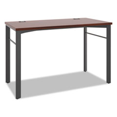 Manage Series Desk Table, 48w x 23 1/2d x 29 1/2h, Chestnut