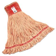 Web_Foot_Wet_Mop_Large_Orange_w_Red_Headband_Cotton_Synthetic_Blend_6_Carton