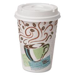 Paper Hot Cups & Lids Combo Bag, 12 oz, 50/Pack, 6/Packs per Carton DXE5342COMBO6CT