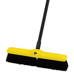 Medium_Floor_Sweeper_PolypropyleneTampico_18_Brush_3_Bristles_Black